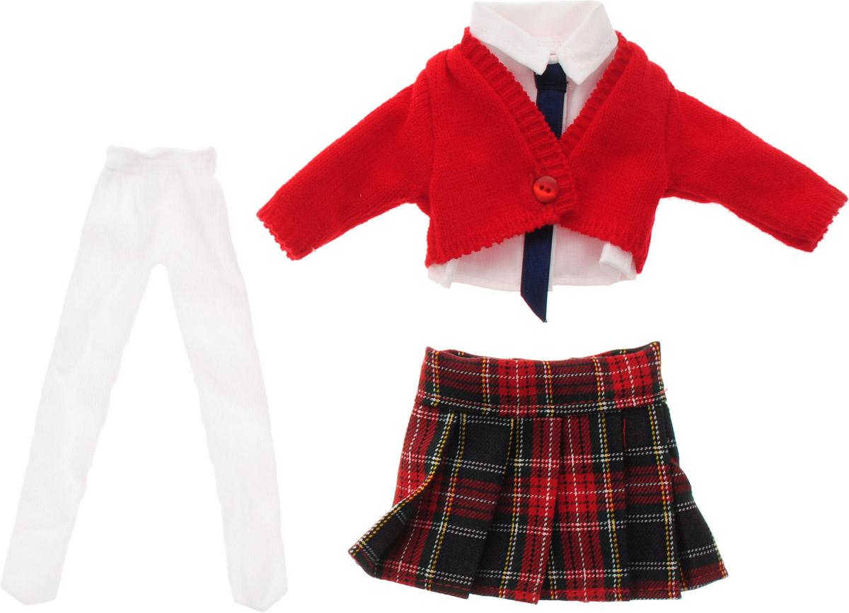 Vestida de Azul Комплект одежды для куклы Паулины Школьница куклы и одежда для кукол vestida de azul оливия в розовом костюме 30 см