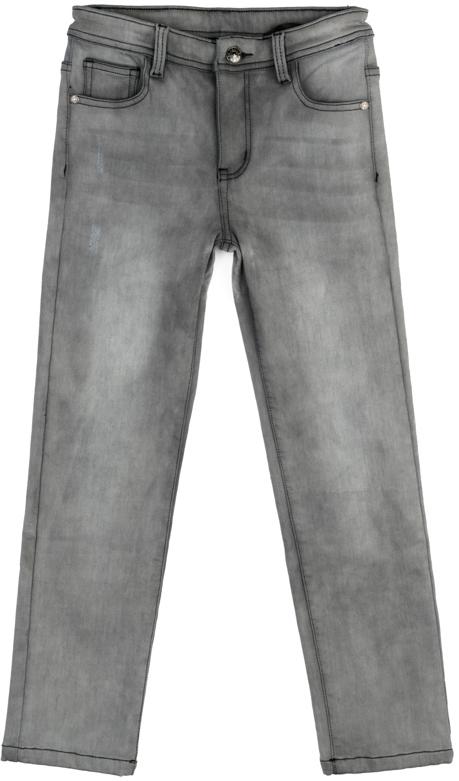 Джинсы для мальчика Scool, цвет: серый. 373060. Размер 146373060Джинсы Scool из смесовой ткани с высоким содержанием хлопка. Классическая пятикарманная модель со шлевками. При необходимости можно использовать ремень. В качестве декора использованы потертости.