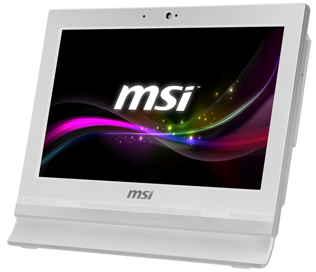 MSI Pro 16T 7M-010RU, White моноблок - Настольные компьютеры и моноблоки