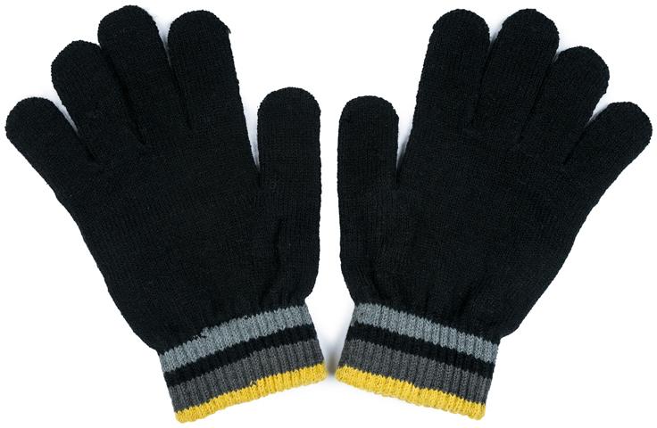 Перчатки для мальчика Scool, цвет: черный. 373074. Размер 18373074Перчатки Scool выполнены из смесовой ткани с высоким содержанием натурального хлопка. Плотные трикотажные резинки хорошо облегают запястье.