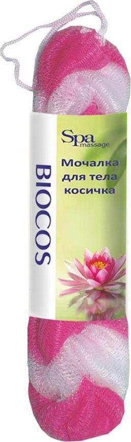 BioCos Мочалка для тела Косичка, цвет: белый, розовый5955Мочалка для тела BioCos Косичка обладает тонизирующим эффектом. Подходит для ежедневного применения. Деликатно и нежно очищает кожу, легко вспенивает даже небольшое количество геля или мыла. Обладает приятным отшелушивающим эффектом, мочалка массирует кожу, снимая усталость и напряжение. Служит долго, сохраняя свою первоначальную форму.Перед использованием размочить в горячей воде. После применения тщательно промыть под струей воды и высушить.Состав: безузловая сетка.