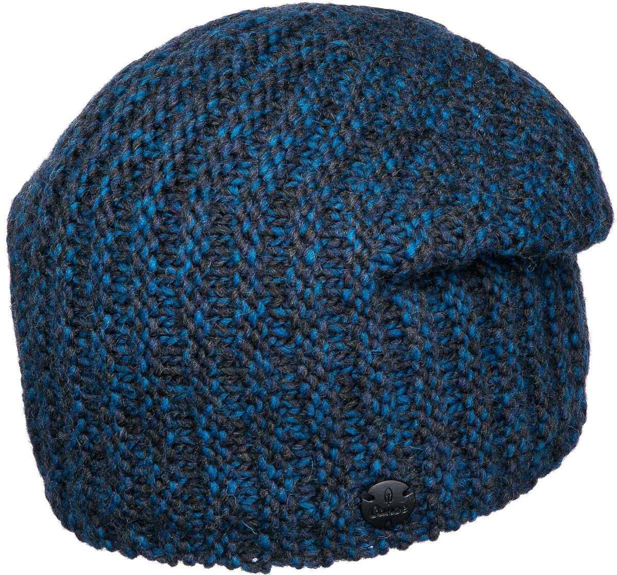 Шапка мужская Canoe Trill, цвет: синий. 3447594. Размер 56/593447594Удлинённая шапочка, утеплённая полоской тонкого, непилингующегося флиса. Изготовлена из мулинированной объёмной пряжи, скрученной из трёх разных цветов. Изделие получилось мягким и тёплыми, привлекает внимание интересными расцветками и дорогим внешним видом.Уважаемые клиенты!Размер, доступный для заказа, является обхватом головы.