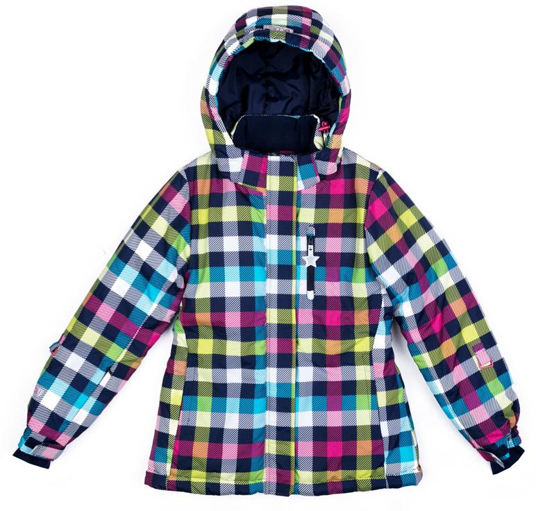 Куртка для девочки Scool, цвет: розовый, гоубой, желтый. 374053. Размер 164374053Теплая куртка Scool отлично подойдет для катания со снежных гор! Модель из ткани с водоотталкивающей пропиткой. Капюшон на кнопках, по контуру дополнен регулируемым шнуром-кулиской. Специальные плотные манжеты с отверстием для большого пальца предохраняют от попадания снега. Куртка со снегозащитной юбкой. Подкладка из теплого флиса. Рукава дополнены специальными кольцами для перчаток. Светоотражающие элементы позволят видеть ребенка в темное время суток.
