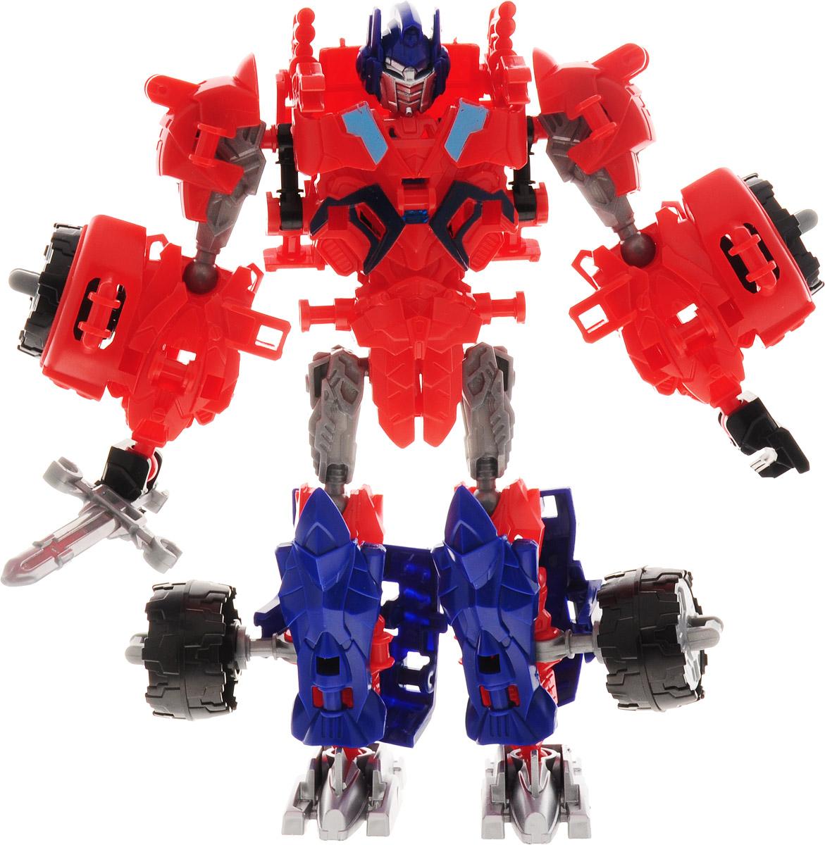 Deformation Warrior Робот-трансформер Red Detent цвет красный синий цена магнитофон в машину