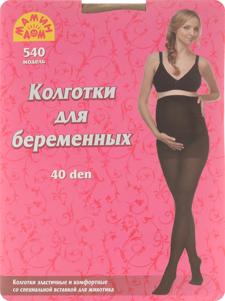 Колготки для беременных Мамин Дом MF 40, цвет:  бежевый.  540.  Размер 3 Мамин Дом