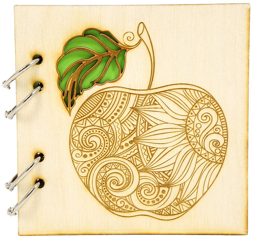 Фолиант Блокнот 150 листов в клетку БЛФ-8БЛФ-8Обложка блокнота выполнена из экологически чистой фанеры, приятной на ощупь, с запахом натурального дерева. Обложку можно дооформить как угодно: раскрасить рисунок, затонировать, залакировать, нанести или выжечь дополнительный узор.Многокрасочная печать на торцах блока; разъемные кольца позволяют менять блок.