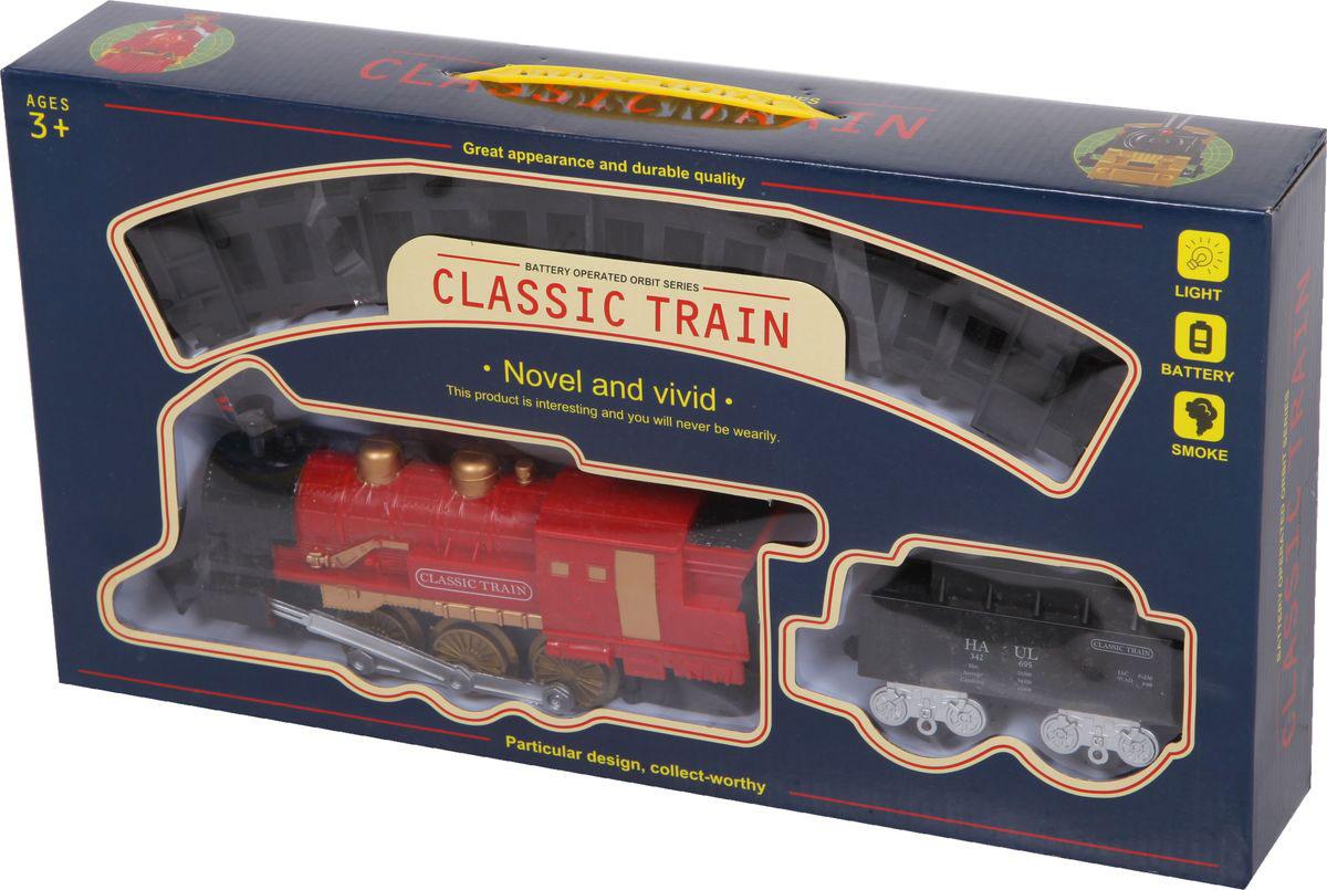 Yako Железная дорога Классический поезд цвет локомотива красный yako игровой набор гараж 4 уровня y3941870