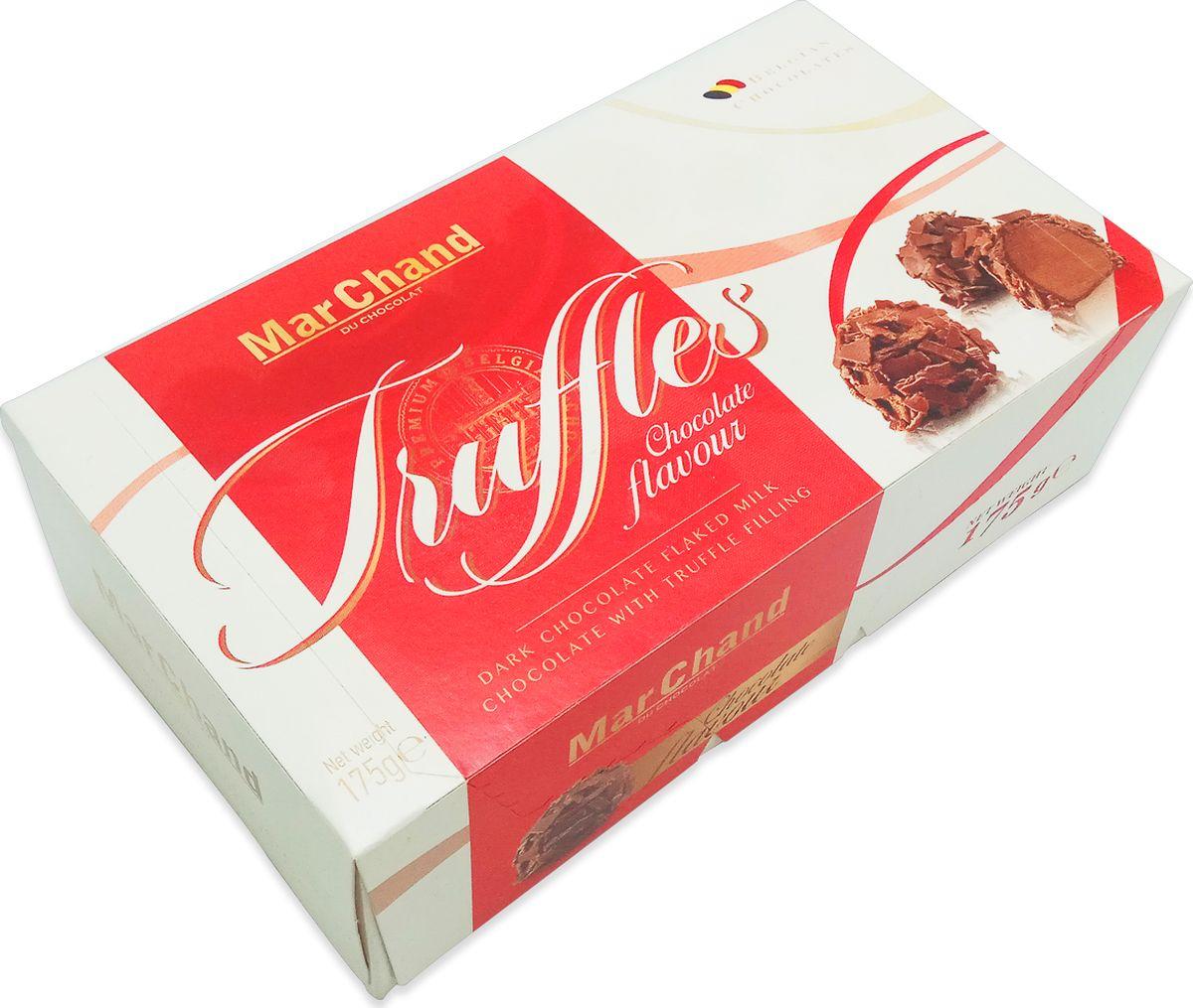 MarChand трюфели шоколадные конфеты шоколадные, 175 г chocmod конфеты chocmod трюфели париж 500г