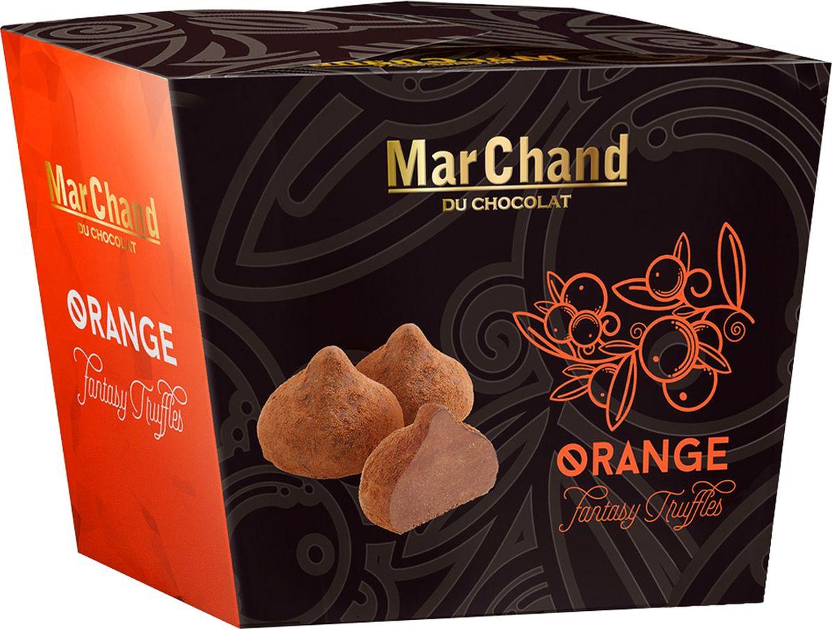 MarChand трюфели шоколадные конфеты с апельсиновым вкусом, 200 г chocmod конфеты chocmod трюфели париж 500г
