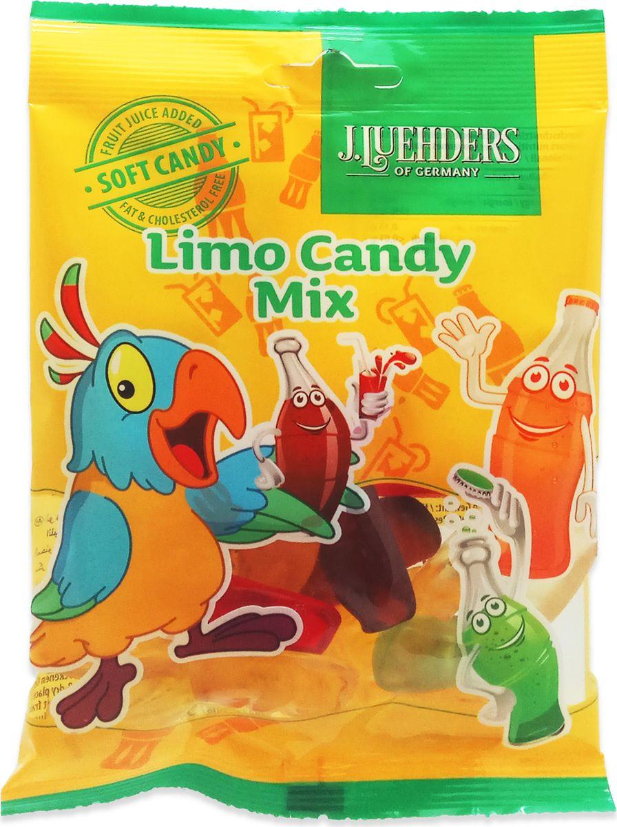 Luehders мармелад лимонадный микс, 80 г947Жевательный мармелад со вкусом лимонада.