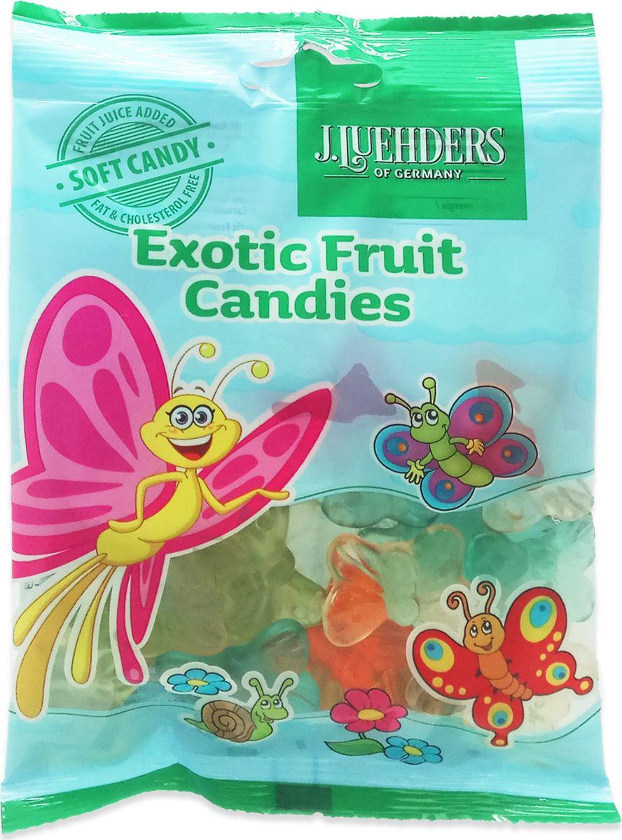 Luehders мармелад экзотические фрукты, 80 г948Жевательный мармелад с фруктовым вкусом.