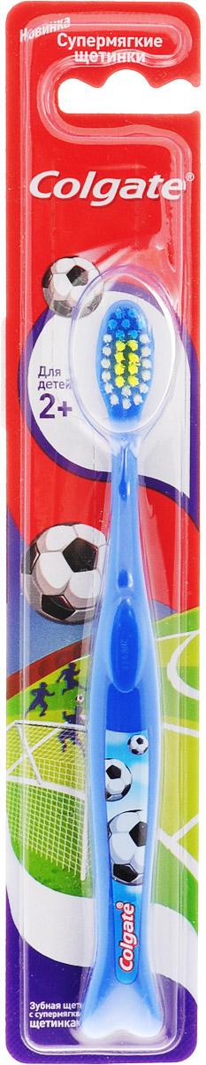 Colgate Зубная щетка Для детей 2+, супермягкая, цвет: синий4024540_синийЗубная щетка Colgate Для детей 2+ рекомендована для детей от 2 лет и старше с передними молочными и прорезывающимися задними зубами. Закругленная головка поможет бережно очистить даже труднодоступные места, а яркий дизайн превратит скучную процедуру в увлекательную игру. Стоматологи и гигиенисты рекомендуют менять зубную щетку каждые 3 месяца. Товар сертифицирован.