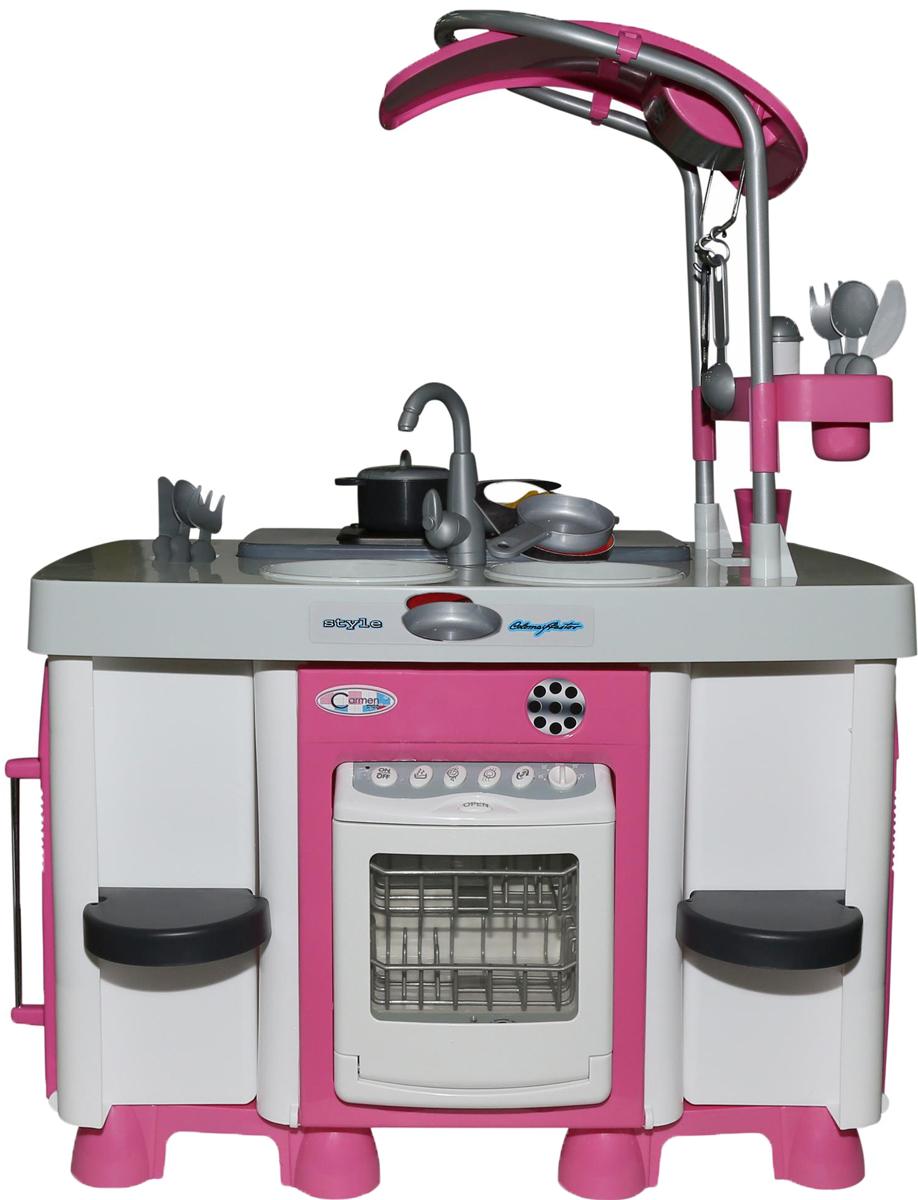 цена Полесье Игровой набор Carmen №7 с посудомоечной машиной и варочной панелью