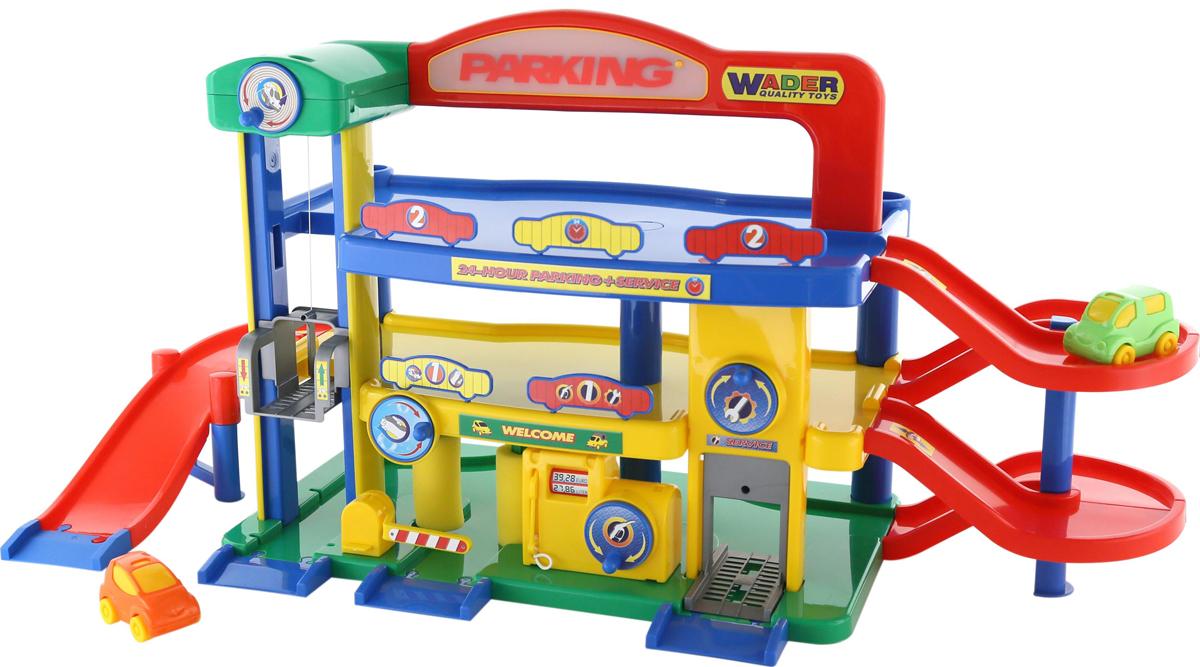 Полесье Игровой набор Гараж №1 Премиум с автомобилями полесье игровой набор гараж 1 премиум с автомобилями