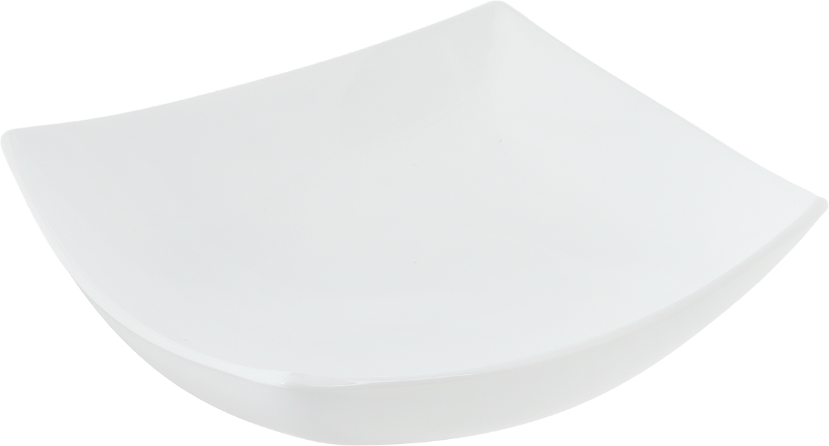 Тарелка глубокая Luminarc Quadrato, 19,5 х 19,5 см блюдо luminarc quadrato black 35 см х 25 5 см
