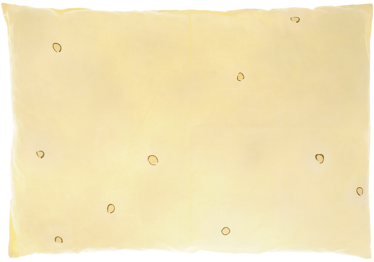 Сонный гномик Подушка детская цвет желтый 60 х 40 см555Х_желтыйМягкая тонкая подушка для детской кроватки Сонный гномик обеспечит крепкий и здоровый сон вашему малышу. Подушка имеет несъемный чехол из прочного безопасного хлопка. Хлопок - натуральный материал, обладающий высокой гигроскопичностью и воздухопроницаемостью, он будет безопасен даже для нежной кожи ребенка. Наполнитель подушки - синтепон в гранулах. Синтепон гипоаллергенен, долговечен, не скатывается и превосходно пропускает воздух.Удобная подушка из безопасных материалов идеально подойдет для детской кроватки, с ней дневной и ночной сон ребенка всегда будет крепким.