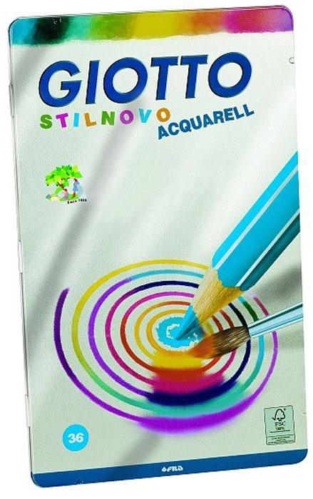 Giotto Набор цветных акварельных карандашей Scat Metallo Круги 36 цветов256400_кругиНабор цветных акварельных карандашей Giotto Scat Metallo изготовлен из сертифицированной древесины. Карандаши легко и экономично затачиваются, не крошатся. Яркие, насыщенные цвета, максимально мягкое рисование и идеальное размытие водой. На корпусе карандаша имеется место для персонализации.