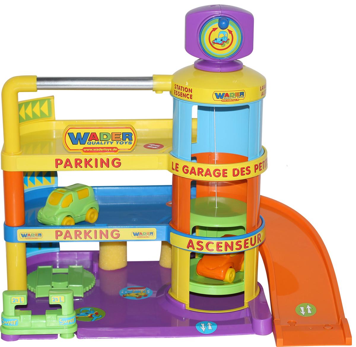 Полесье Игровой набор Гараж Беби с автомобилями полесье беби трайк