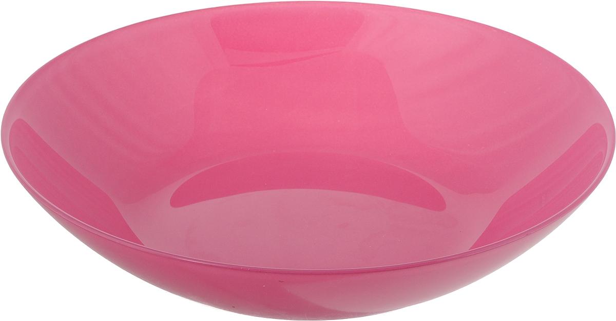 Тарелка глубокая LuminarcArty, диаметр 20 смL1052Глубокая тарелка Luminarc Arty выполнена из ударопрочного стекла и имеет изысканный внешний вид. Изделие сочетает в себеизысканный дизайн с максимальной функциональностью. Она прекрасно впишется в интерьер вашей кухни и станет достойным дополнением к кухонному инвентарю. Тарелка Luminarc Arty подчеркнет прекрасный вкус хозяйки и станет отличным подарком. Диаметр тарелки: 20 см.Высота тарелки: 4 см.