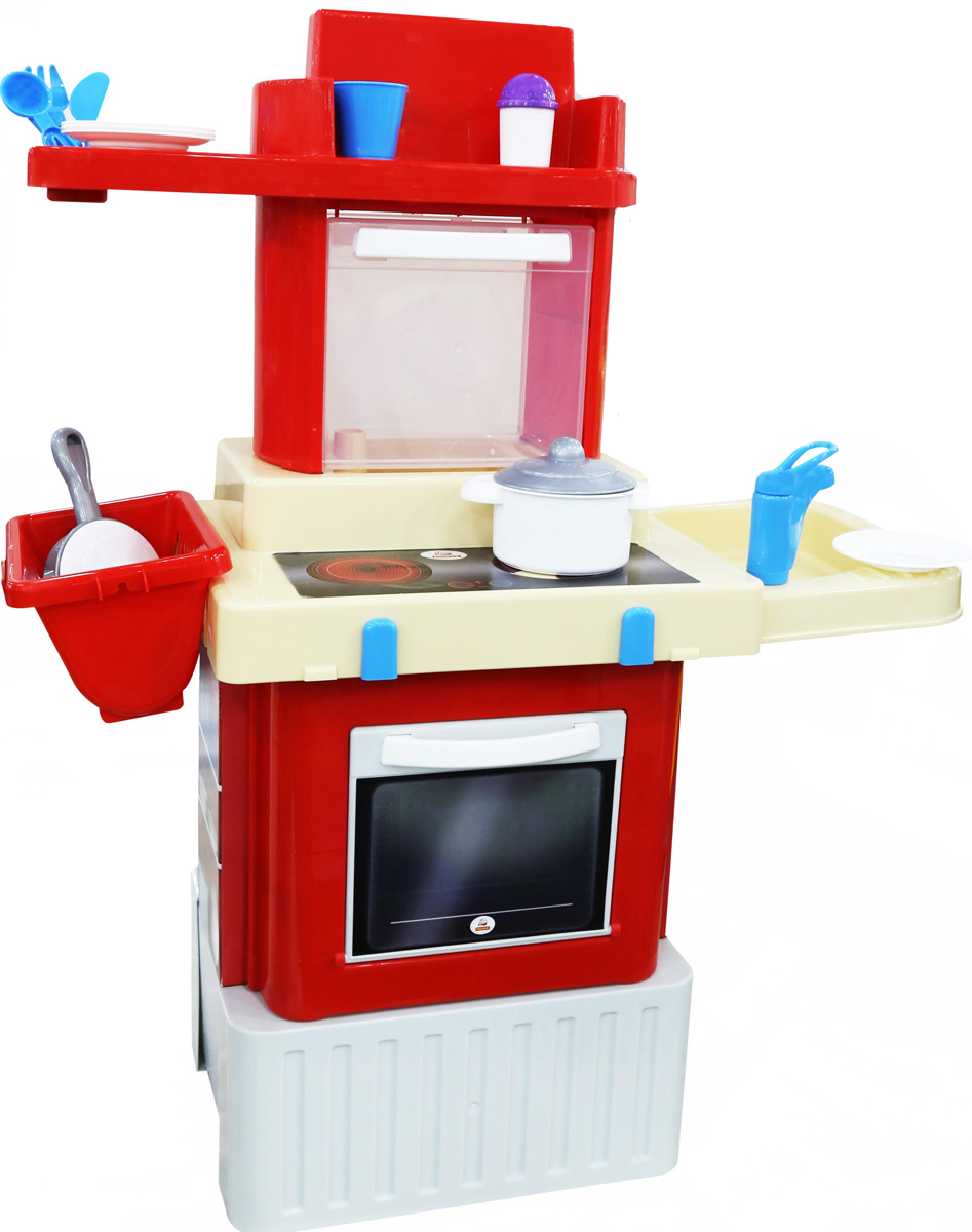 Полесье Игровой набор Кухня Infinity Basic №2 janod в квадратном чемоданчике пилот