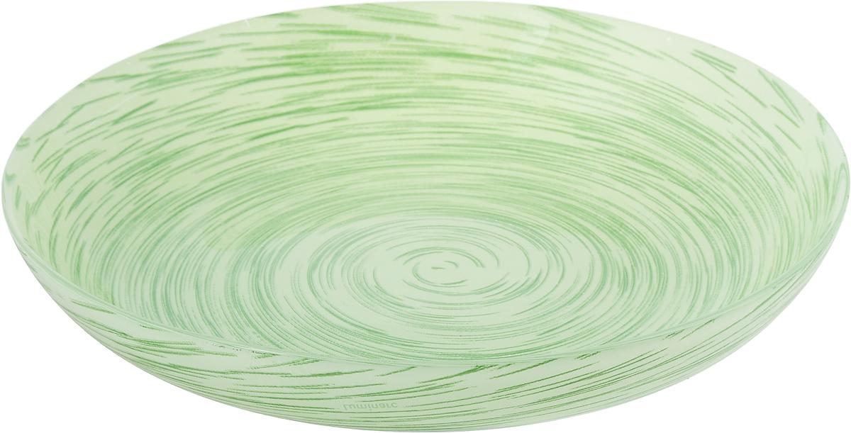 Тарелка глубокая Luminarc Stonemania, цвет: светло-зеленый, диаметр 20 смJ2127Глубокая тарелка Luminarc Stonemania выполнена из ударопрочного стекла и имеет изысканный внешний вид. Изделие сочетает в себеизысканный дизайн с максимальной функциональностью. Она прекрасно впишется в интерьер вашей кухни и станет достойным дополнением к кухонному инвентарю. Тарелка Luminarc Stonemania подчеркнет прекрасный вкус хозяйки и станет отличным подарком. Диаметр тарелки: 20 см.Высота тарелки: 3 см.