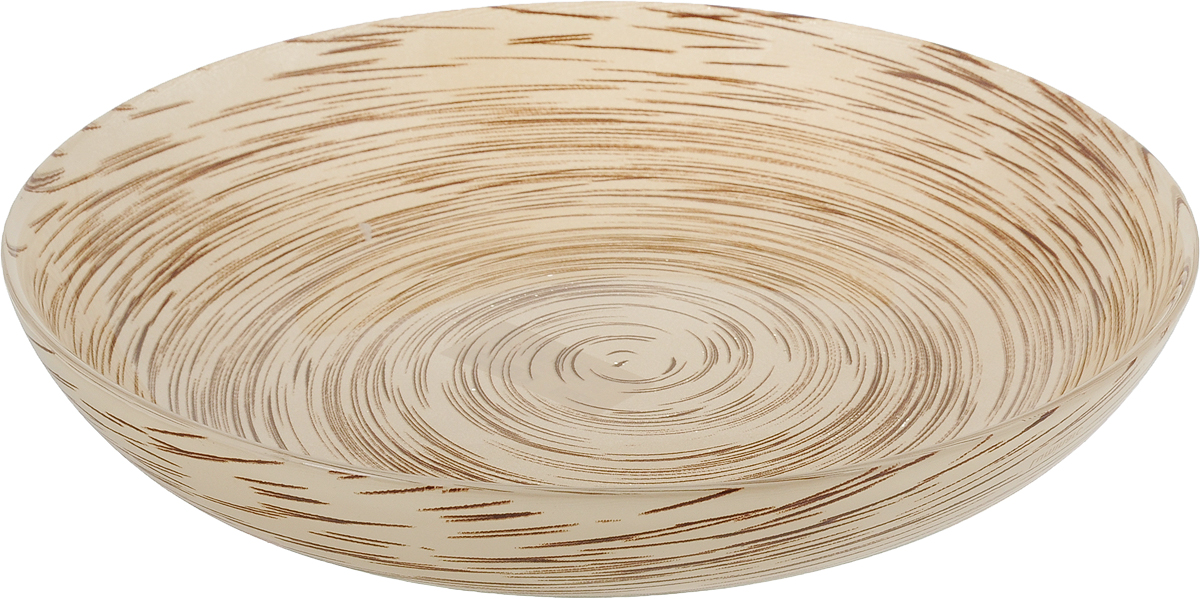 Тарелка глубокая Luminarc Stonemania, цвет: светло-коричневый, диаметр 20 смJ2132Глубокая тарелка Luminarc Stonemania выполнена из ударопрочного стекла и имеет изысканный внешний вид. Изделие сочетает в себеизысканный дизайн с максимальной функциональностью. Она прекрасно впишется в интерьер вашей кухни и станет достойным дополнением к кухонному инвентарю. Тарелка Luminarc Stonemania подчеркнет прекрасный вкус хозяйки и станет отличным подарком. Диаметр тарелки: 20 см.Высота тарелки: 3 см.
