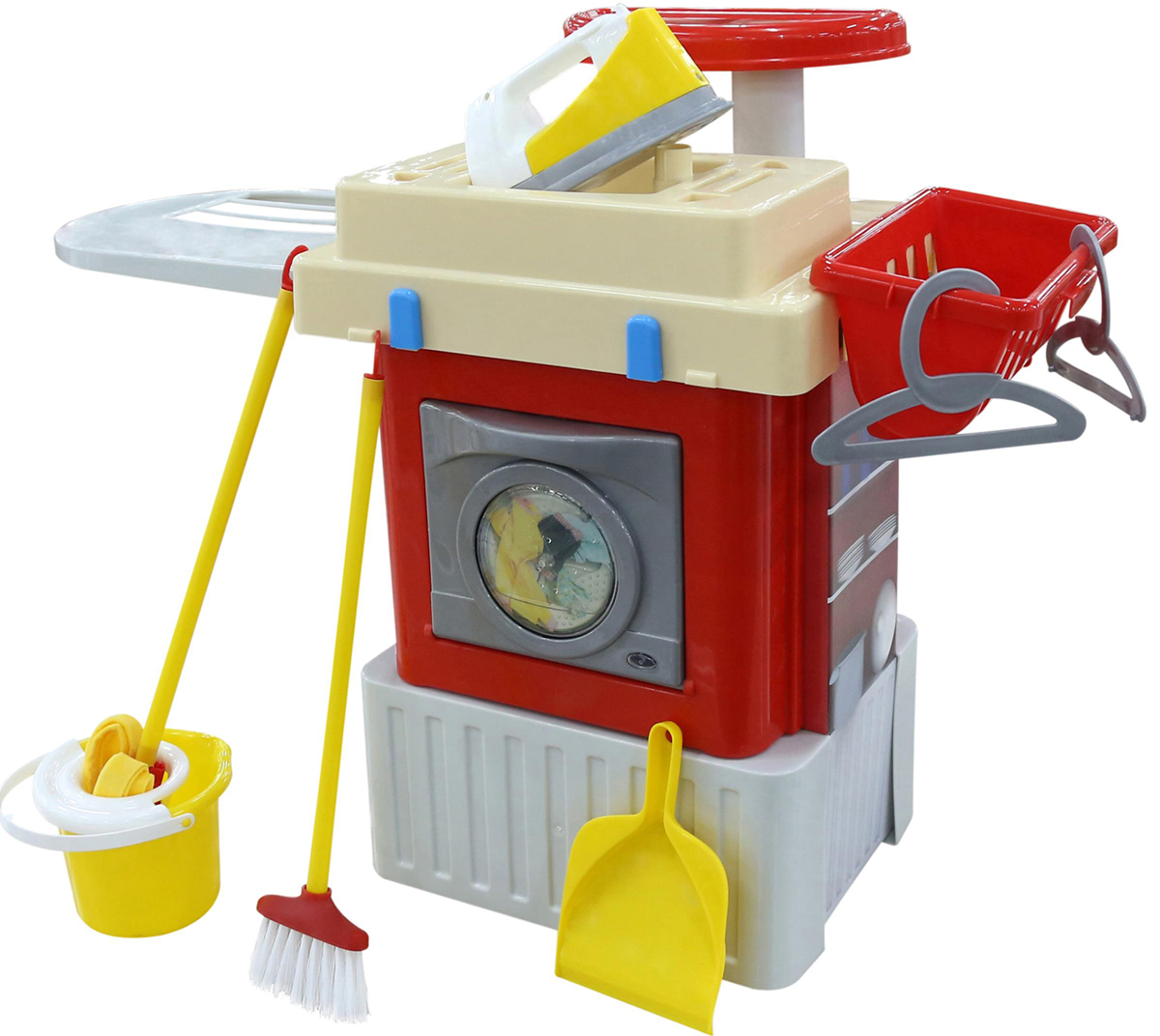 Полесье Игровой набор со стиральной машиной Infinity Basic №3 - Сюжетно-ролевые игрушки