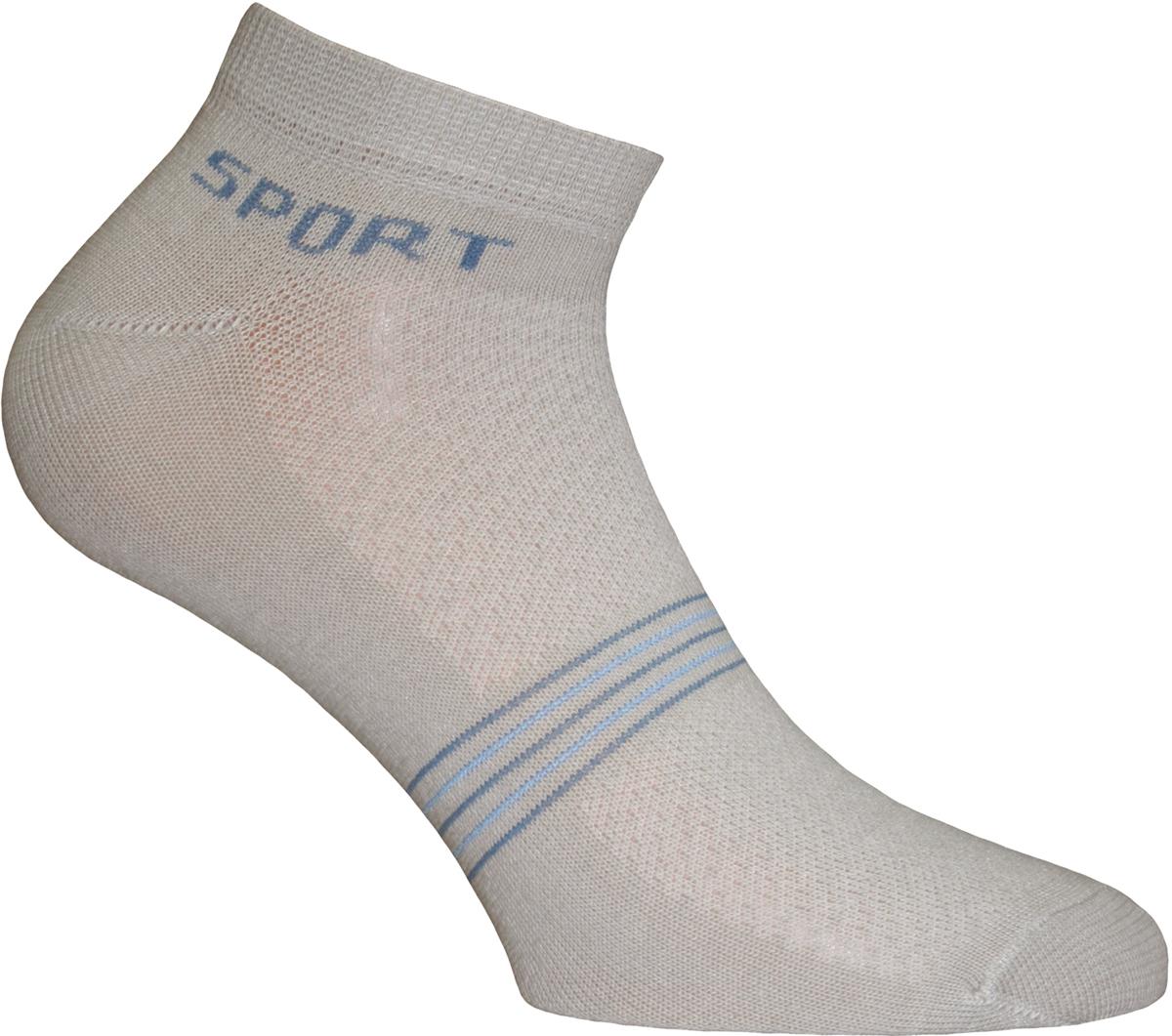 Носки мужские Master Socks, цвет: светло-серый. 58914. Размер 2758914Удобные носки Master Socks в спортивном стиле, изготовленные из высококачественного комбинированного материала с хлопковой основой, очень мягкие и приятные на ощупь, позволяют коже дышать.Эластичная резинка плотно облегает ногу, не сдавливая ее, обеспечивая комфорт и удобство. Носки с укороченным паголенком. Практичные и комфортные носки великолепно подойдут к любой вашей обуви.