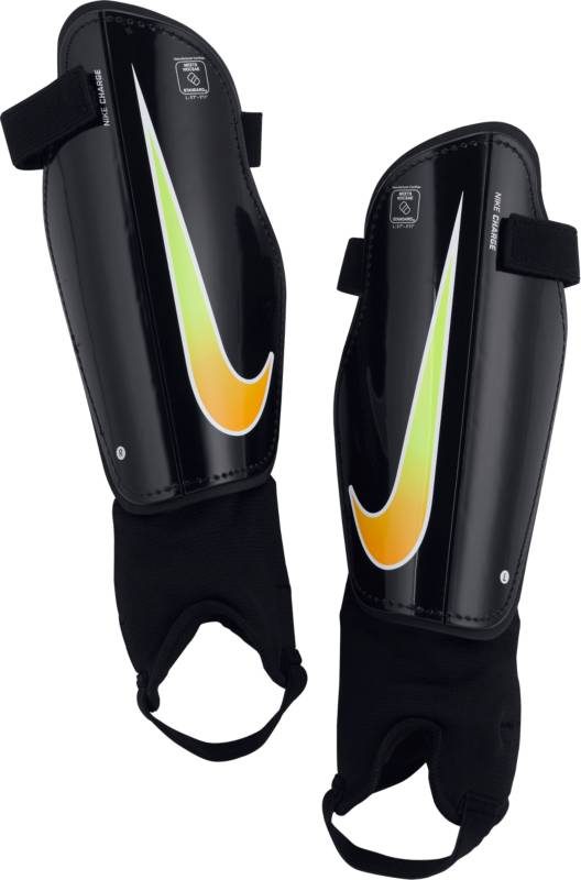 Щитки Nike Charge 2.0, цвет: черный, размер M