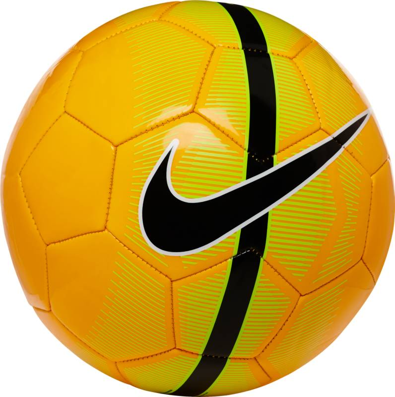 Мяч футбольный Nike Mercurial Fade, цвет: оранжевый, размер 5SC3023-825Футбольный мяч Nike Mercurial Fade состоит из 26 панелей с прочным покрытием из материала TPU и контрастной графикой для большей заметности на поле. Конструкция из 26 вставок для правильной и точной траектории полета. Покрытие из материала TPU с машинной строчкой для повышенной прочности. Бутиловая камера обеспечивает отличную амортизацию и превосходно удерживает воздух. Яркий рисунок делает мяч заметнее на поле.
