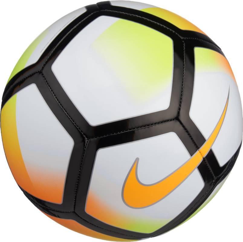 Мяч футбольный Nike Pitch Football, цвет: белый, размер 5SC3136-100Футбольный мяч Nike Pitch Football с высококонтрастной графикой хорошо заметен во время игры и тренировок. Прочная упругая конструкция обеспечивает точную траекторию полета мяча.Конструкция из 32 панелей для прочности. Машинная строчка на покрышке из материала TPU для стабильной игры. Высококонтрастная графика делает мяч хорошо заметным.