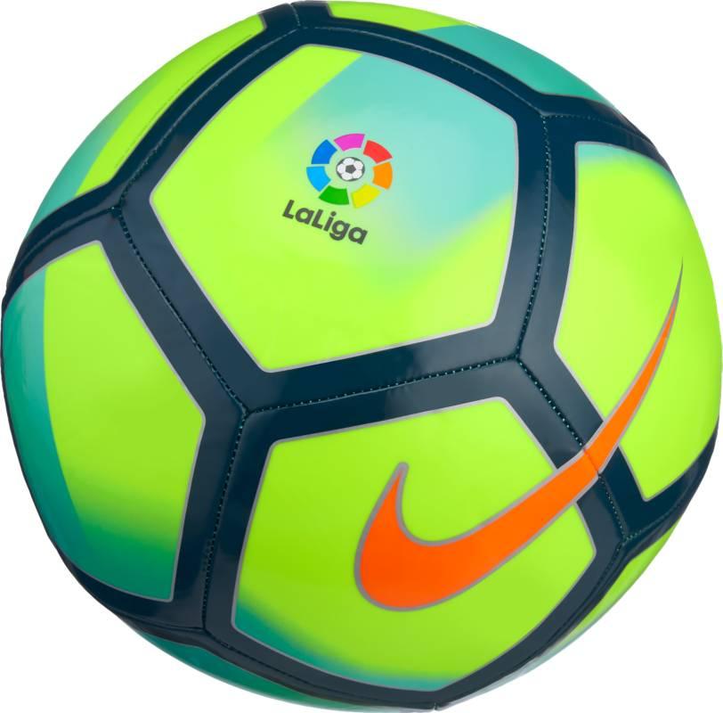 Мяч футбольный Nike La Liga Pitch Football, цвет: зеленый, размер 5 nike мяч футбольный nike pitch fa cup