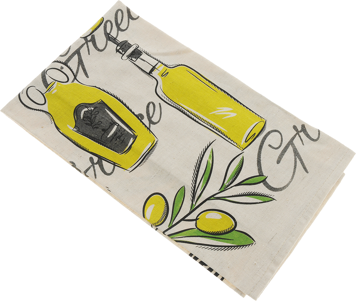 Полотенце кухонное LarangE От Шефа. Оливки, 45 х 60 смПЛ-6045_оливкиКухонное полотенце LarangE От Шефа. Оливки изготовлено из льна и хлопка и оформлено рисунком. Полотенце идеально впитывает влагу и сохраняет свою мягкость даже после многих стирок. Полотенце LarangE От Шефа. Оливки - отличный вариант для практичной и современной хозяйки.