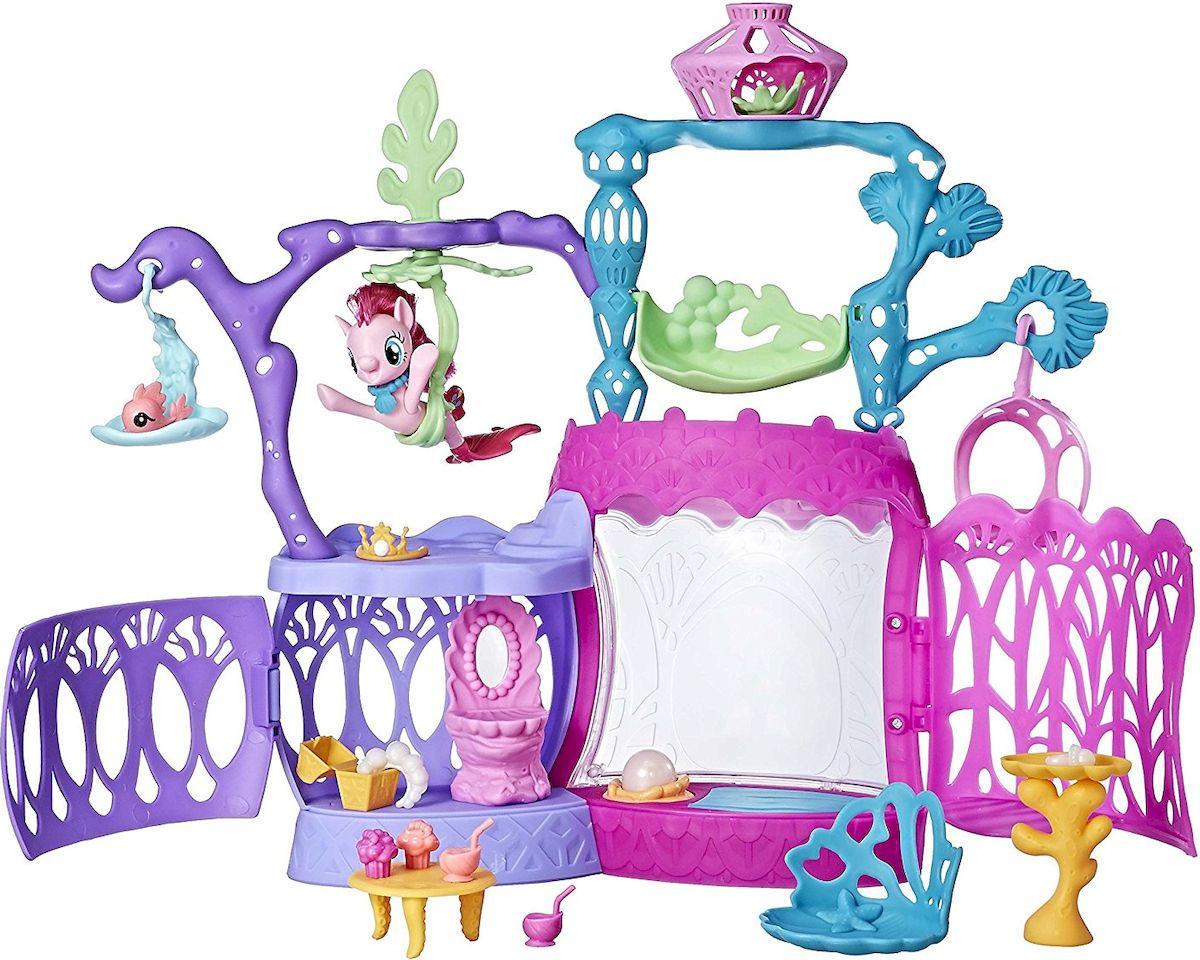 My Little Pony Игровой набор Pinkie Pie Seashell Lagoon my little pony игровой набор dress shop rarity