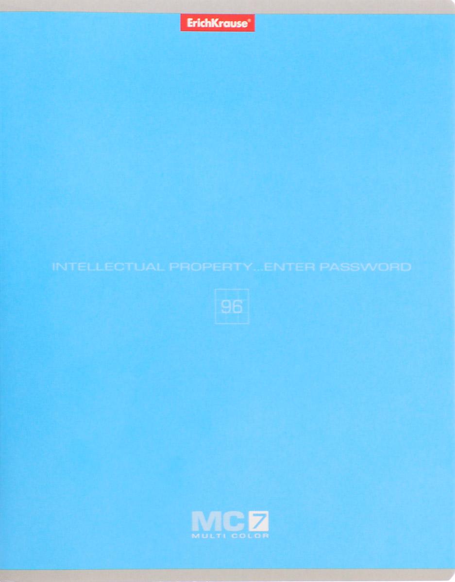 Erich Krause Тетрадь МС 7 96 листов в клетку цвет голубой35487_голубойТетрадь Полиграфика MC-7 отлично подойдет для занятий как школьнику, так и студенту. Обложка тетради выполнена из плотного мелованного картона и позволит сохранить тетрадь в аккуратном состоянии на протяжении всего времени использования. Внутренний блок тетради, соединенный скрепками, состоит из 96 листов белой бумаги в голубую клетку с полями.