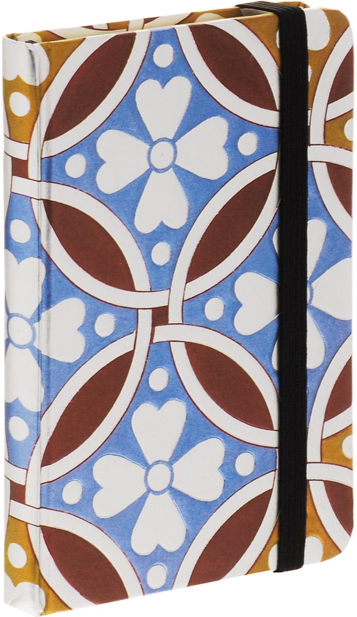 Brauberg Блокнот Muse 80 листов в клетку цвет коричневый голубой формат A7+125738_коричневый, голубойБлокнот Brauberg Muse - это неотъемлемый атрибут делового человека, который ценит свое время и умеет правильно организовать свой трудовой день. Замысловатые узоры придутся по вкусу любителям сложных сплетений четких линий. Выразительность обложке придает слепое тиснение, которое повторяет контуры рисунка.Внутренний блок - кремовая бумага в клетку. На задней обложке расположен бумажный карман для визиток. Блокнот оснащен надежной резинкой-фиксатором и закладкой-ляссе.