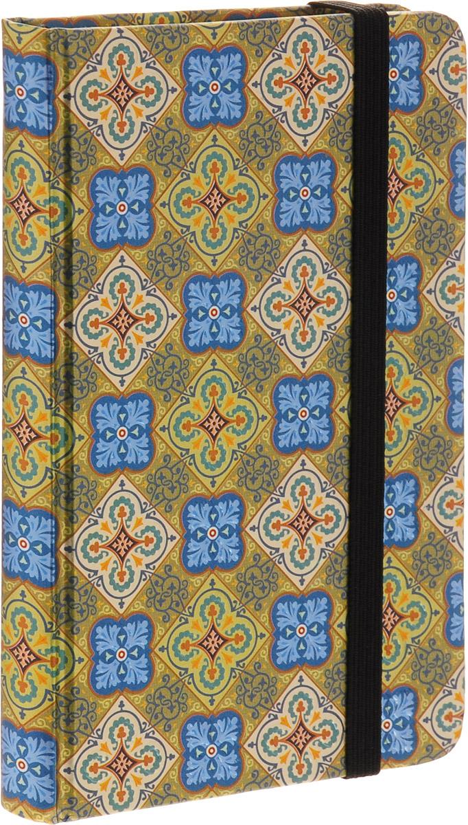 Brauberg Блокнот Muse 80 листов в клетку цвет золотистый голубой формат A7+125738_золотистый, голубойБлокнот Brauberg Muse - это неотъемлемый атрибут делового человека, который ценит свое время и умеет правильно организовать свой трудовой день. Замысловатые узоры придутся по вкусу любителям сложных сплетений четких линий. Выразительность обложке придает слепое тиснение, которое повторяет контуры рисунка.Внутренний блок - кремовая бумага в клетку. На задней обложке расположен бумажный карман для визиток. Блокнот оснащен надежной резинкой-фиксатором и закладкой-ляссе.