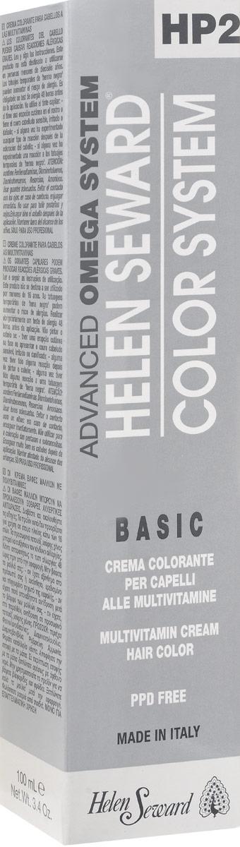 Helen Seward HP Color Натуральные оттенки теплые Коричневый, 100 млC40Перманентная крем-краска — инновационная трехвалентная формула с мультивитаминами В5 и С для стойкого окрашивания, обеспечивает покрытие седины, блеск и мягкость волос.