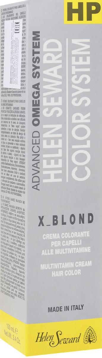 Helen Seward X_Blond Ультра белый, 100 млC00Перманентная крем-краска — инновационная трехвалентная формула с мультивитаминами В5 и С для стойкого окрашивания, обеспечивает покрытие седины, блеск и мягкость волос.