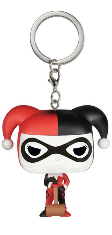 Funko Pocket POP! Брелок для ключей DC Comics: Harley Quinn