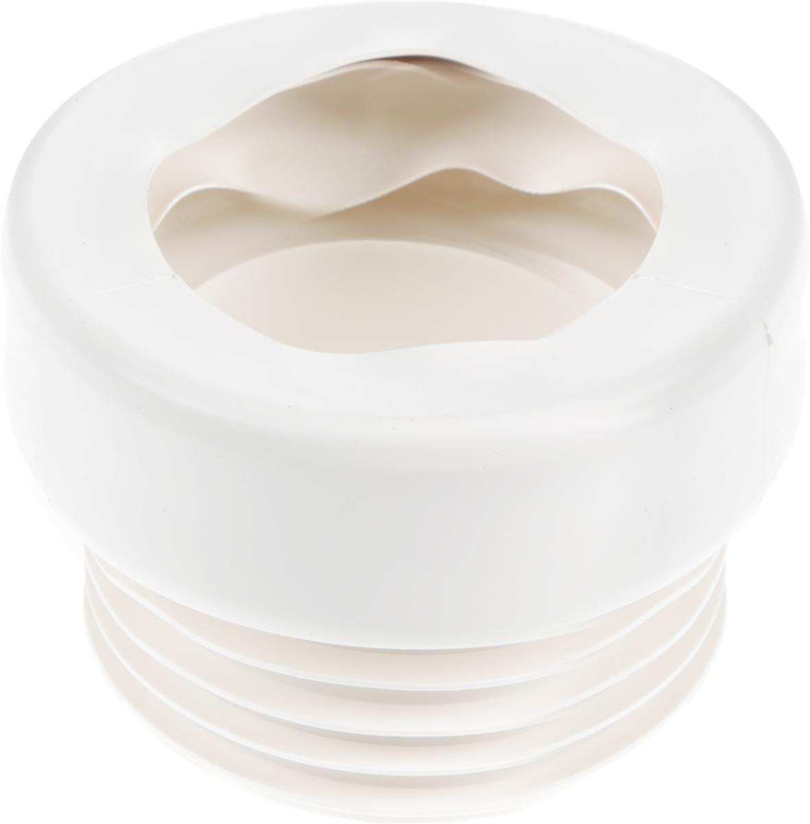 Манжета для унитаза Unicorn, прямая, 110 ммИС.110329Гофрированная манжета для унитаза Unicorn - это прямой соединительный отвод для унитаза. Используется для прочного и герметичного соединения выпуска чаши с патрубком канализационной системы. Гофрированная манжета применима в сложных вариантах установки и подключения унитаза. Гофрой всегда можно выполнить маневр на площади санузла, монтируя ее под любым углом.