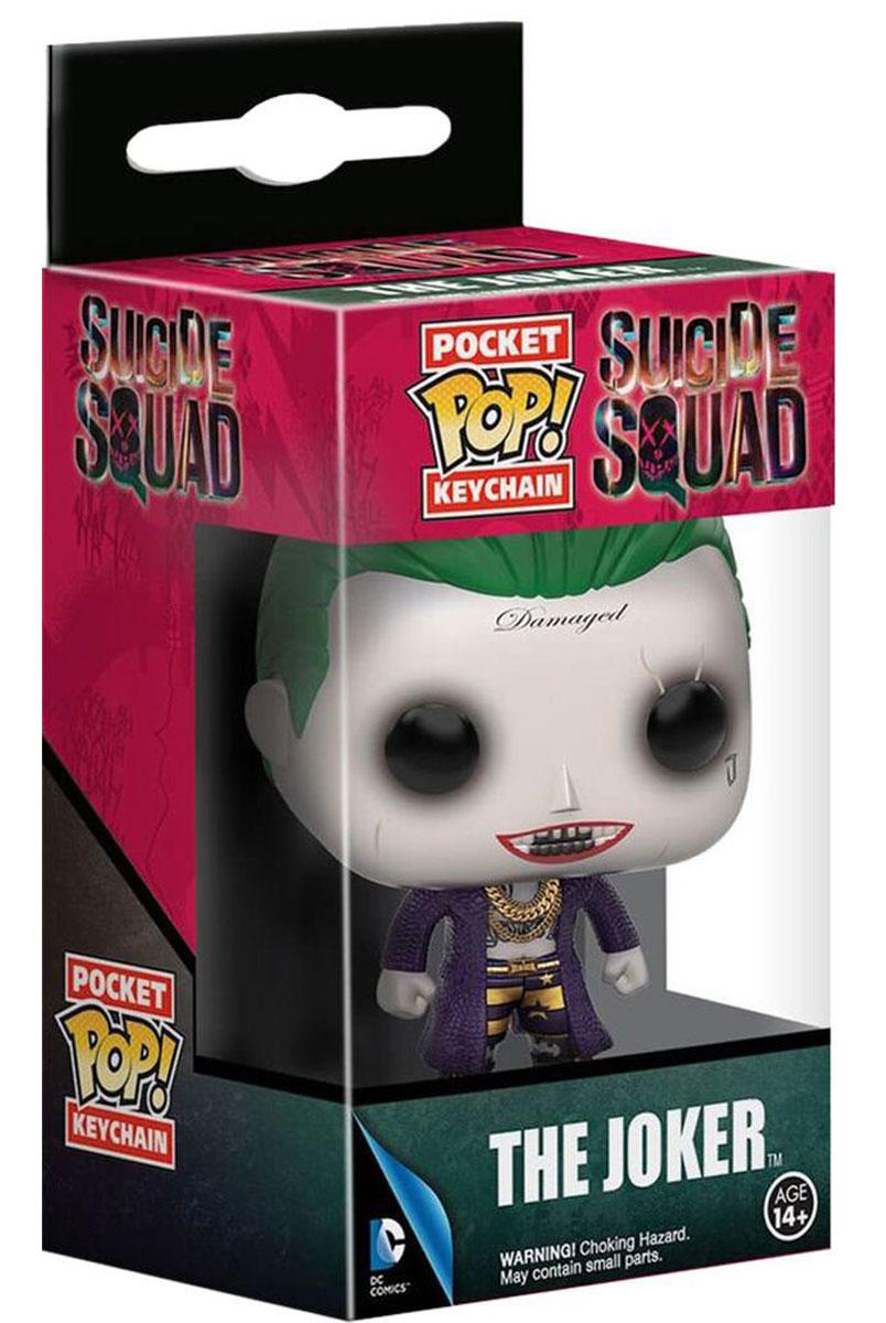 Funko Pocket POP!Брелок для ключей Suicide Squad:  Joker Funko