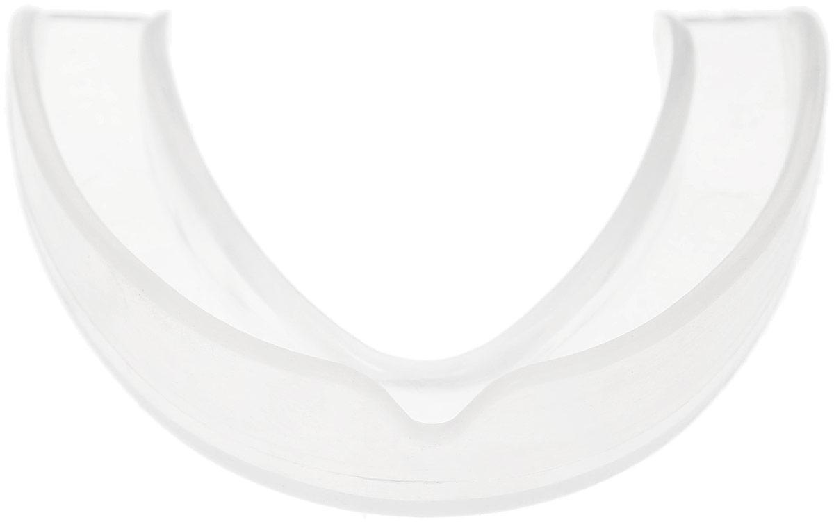 Капа одночелюстная Adidas Single Mouth Guard, цвет:  прозрачный.  Размер Senior Adidas