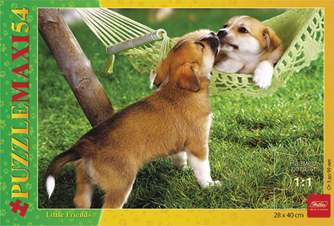 Hatber Пазл для малышей Два щенка