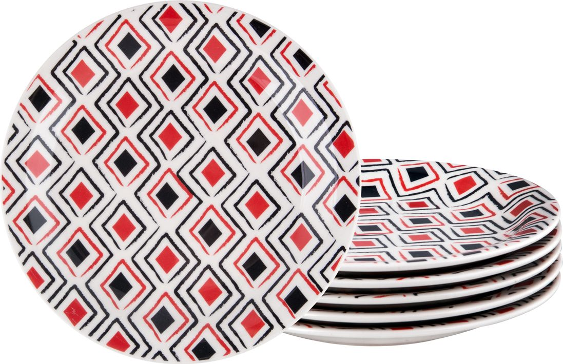 Набор тарелок десертных Biona Марахо, 20 см, 6 шт biona набор столовый марахо