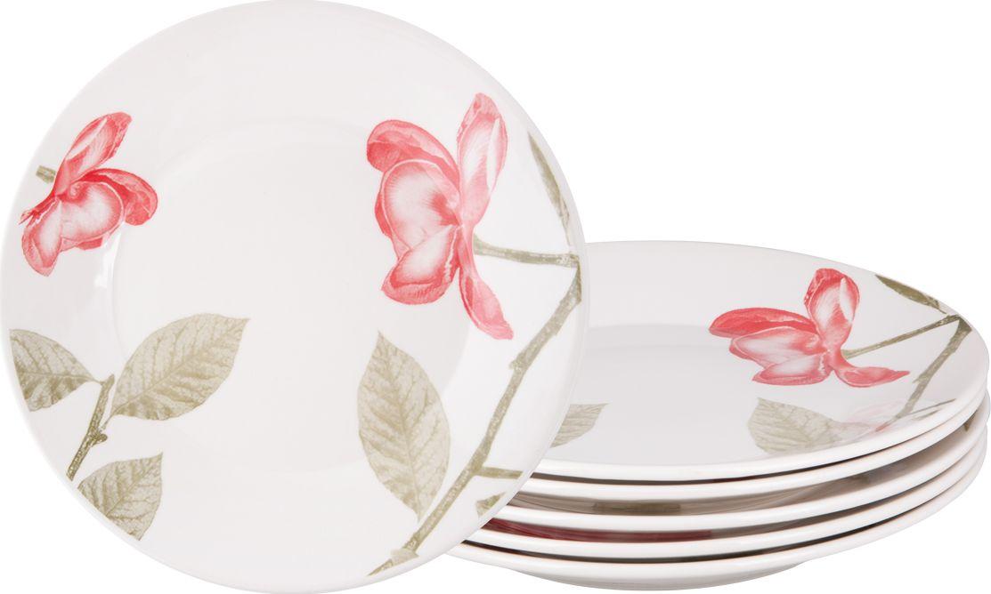 Набор тарелок обеденных Biona Бьюти, 26 см, 6 шт1481BEAUTY26-1-6Добавьте вашему столу бразильского очарования с набором тарелок Biona. Их яркие летние цвета прекрасно подойдут для ежедневной сервировки, а так же станут естественным дополнением праздничного вечера. Набор включает в себя шесть обеденных тарелок. Материал - керамика. Можно использовать в микроволновой печи и мыть в посудомоечной машине.