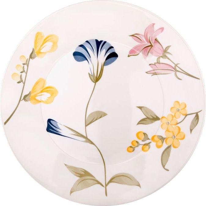 Набор тарелок обеденных Biona Май, диаметр 26 см, 6 шт1543MAY26-1-6Набор тарелок выполнен из высококачественной керамики. Добавьте вашему столу бразильского очарования с набором тарелок Biona. Их яркие летние цвета прекрасно подойдут для ежедневной сервировки, а так же станут естественным дополнением праздничного вечера. Набор включает в себя шесть обеденных тарелок. Можно использовать в микроволновой печи и мыть в посудомоечной машине.