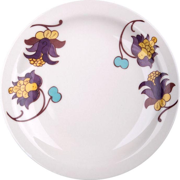 Набор тарелок обеденных Biona Мили, 26 см, 6 шт6751OXMILI-1-6Добавьте вашему столу бразильского очарования с набором тарелок Biona. Их яркие летние цвета прекрасно подойдут для ежедневной сервировки, а так же станут естественным дополнением праздничного вечера. Набор включает в себя шесть обеденных тарелок.Можно использовать в микроволновой печи и мыть в посудомоечной машине.