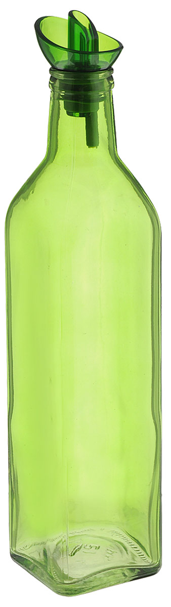 Емкость для масла Herevin, цвет: оранжевый, зеленый, 500 мл42295Емкость для масла Herevin, цвет: оранжевый, зеленый, 500 мл