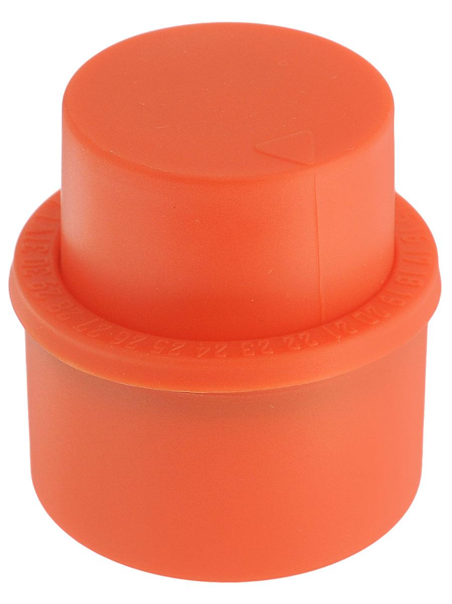 Пробка вакуумная Balvi Fizzy, для газированных напитков, цвет: красный дозатор напитков balvi liquor l hedoniste цвет серый металлик